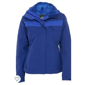 The North Face inlux insulated hoodie jacket